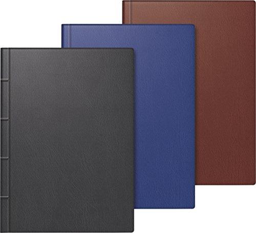 Baier & Schneider Taschenkalender, 1 Tag / 1 Seiten, 100 x 140 mm, Kunststoff-Einband, in 3 Farben