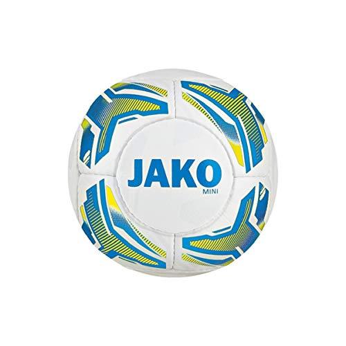 JAKO Unisex– Erwachsene Striker Miniball, Weiß, 1