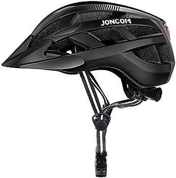 Joncom Adult Bike Helmet with Light