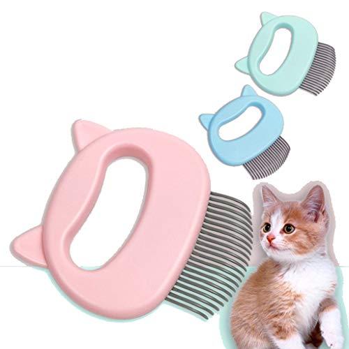 WEIFU Pet Cat Hair Removal Massage weich Comfy Floating Haarmassage Beauty Nadelkamm für die Pflege und Haarausfall von kurzen Haaren
