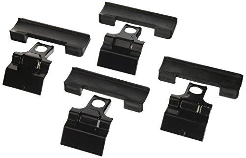 Thule 141856 Kit de Ajuste Personalizado para Montar una Barra de Techo, Negro