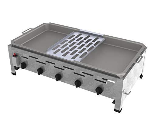 ChattenGlut Reibekuchenbräter 5 Flammig 18 kW Tischgerät Reibekuchenauflage