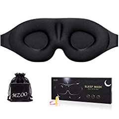 No pressure on eyes, eye space is wider and deeper than other flat eye mask (Silk eye mask will oppress eyes) Unique heat-bonded technology instead of glue, sturdy and durable, no easy to fall apart. Top quality fiber fabric never stain bed sheets or...