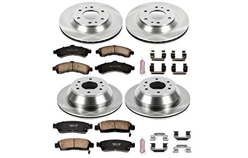 Autospecialty KOE2058 1-Click OE Replacement Brake Kit