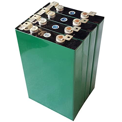 LONGRING Grado A 4PCS 3.2V 90AH LIFEPO4 Cell, 4000 Ciclo DEFROBLE Recargable Celular DE LA BATERÍA DE FOSFICA DE Iron FOSFATE, batería sin Mantenimiento