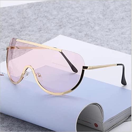 N/A Gafas de Sol para Hombre Gafas de Sol para Mujer Gafas de Sol Gafas de Sol de Moda Metalizadas Gafas de Sol Unidas Gafas de Sol Ocean
