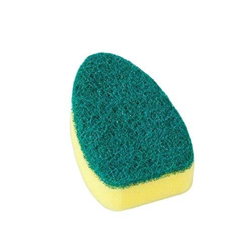 Sponzen Schaal Wassen Gereedschap Reiniging Borstel Zeep Dispenser Handvat Navulbare Bowls Reinigen Sponge Blok Borstel voor Keuken Organizer Accessoires Scourers