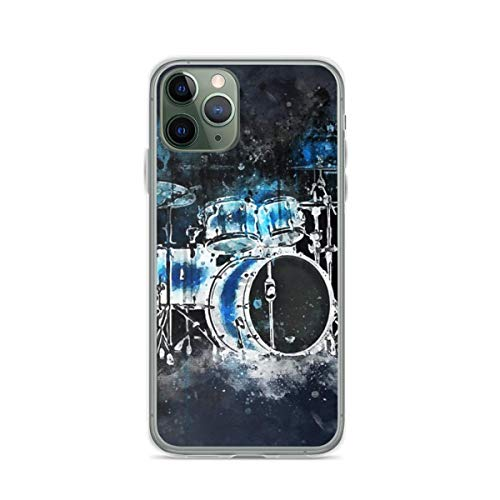 Phone Case Drums 10 Compatible with iPhone 6 6s 7 8 X XS XR 11 Pro Max SE 2020 Samsung Galaxy Anti Funny Drop