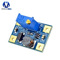 10PCS SX1308 DC-DC Step UP Adjustable Power Board Module Boost Converter 2-24V to 2-28V 2A Step-Up Module Automatic Protection