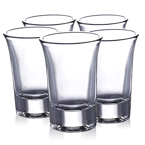 Cocktail Glasses Conjunto De 5 Coupe Corto Cristal Transparente Mini Vasos De Licor 35 Ml 2.6