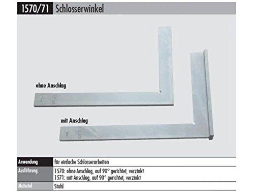 ELORA 1570010001000 1570-1000 SCHLOSSERWINKEL, Made in Germany, 1000 mm
