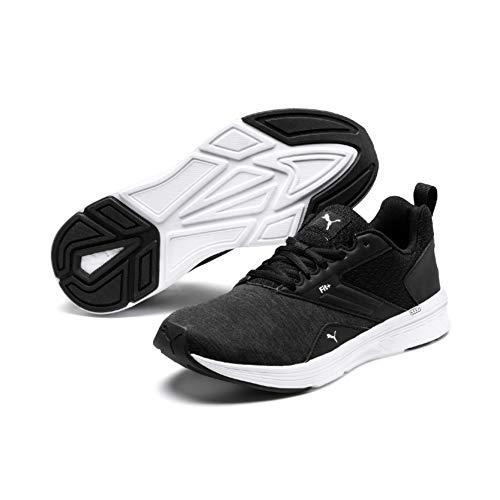 Puma Nrgy Comet, Zapatillas de Running Unisex adulto,Negro (Puma Black-Puma White 06) 40 EU