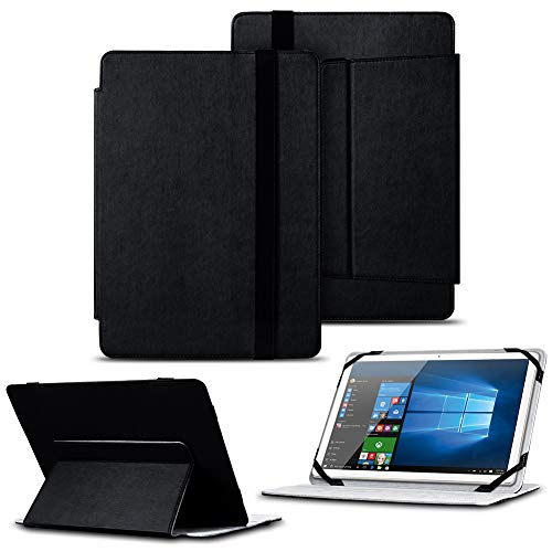 NAUC Schutz Hülle für Odys Winpad 12 Tablet Tasche Cover Schutzhülle Hülle Bag Schwarz