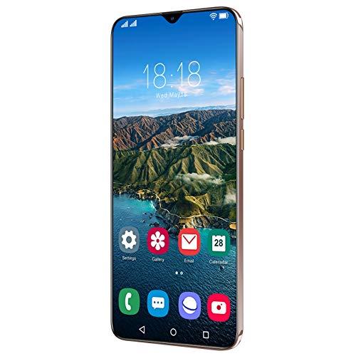Teléfono Celular Inteligente con Desbloqueo De Huellas Dactilares 4 + 64G, Pantalla Táctil HD 1440 * 3200 De 6.7 Pulgadas, Reconocimiento Facial De Cámara Dual Android 11.0, Teléfono Inteligente Des