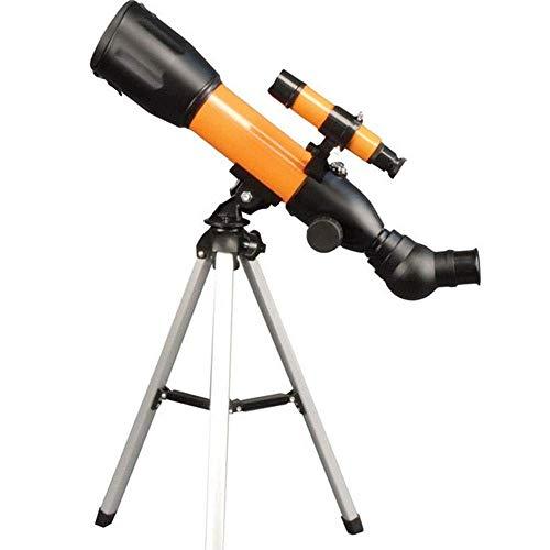 JKUNYU Kinder-Teleskop abnehmbare tragbare Reise Teleskop Hohe Vergrößerung mit Stativ Ansicht Star, Tiere for Kinder 360mm Brennweite Ferngläser