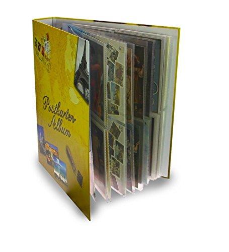 SAMMEL Album POSTKARTENALBUM DIN A4 + 20 HÜLLEN Nr. 5477 - FÜR 80 Neue ANSICHTSKARTEN Fotos Karten POSTKARTEN bis DIN A5