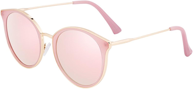 HONGYANDAI Sunglasses Women Polarized Glasses 100% Uv Travel Lens (Pink)