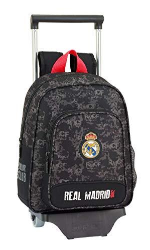 Real Madrid CF Mochila pequeña Ruedas  Carro  Trolley