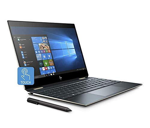 "HP-PC Spectre x360 13-ap0001nl Convertibile, Intel Core i5-8265U, RAM 8 GB, SSD 256 GB, Grafica Intel UHD 620, Windows 10 Home, Schermo 13.3"" FHD IPS, Lettore Impronte Digitali, Thunderbolt, Blu"