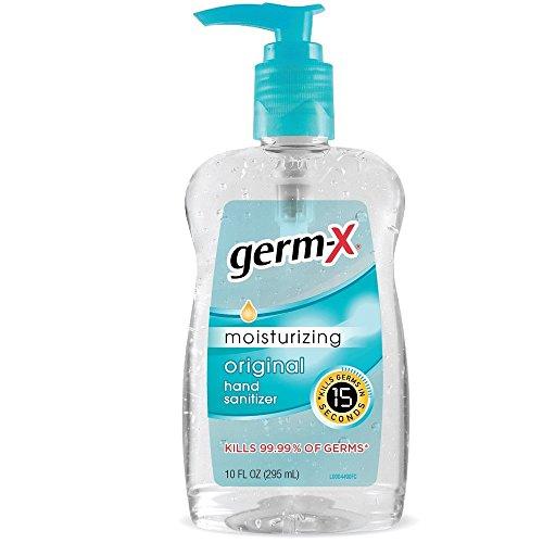 Germ-X Moisturizing Original Hand Sanitizer, 10 fl oz