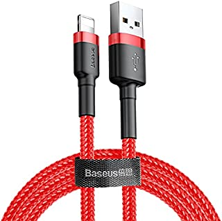 Iphone charger cable, Nylon Braided, 1m