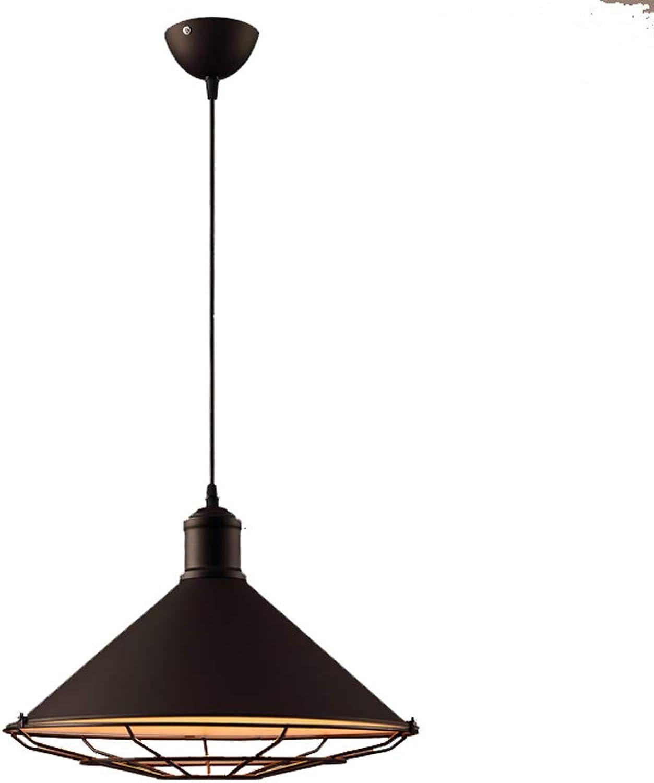 LOFT Vintage Eisen Kronleuchter, Retro Kreative LED Bar Gangbeleuchtung Lüster Deckenleuchten American Village Wohnzimmer Cafe Esstisch Pendelleuchte (Design   B)