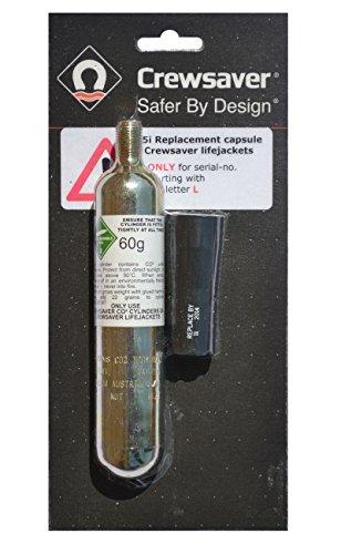 Crewsaver Bootfahren und Segeln - Junior Automatic Re-Arming Pack 23g - Ersatzkapsel und CO2-Flasche