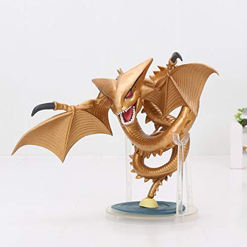 Yzoncd Dragon Ball Super Shenron Figura Gold Dragon Colección Modelo Juguetes 14Cm