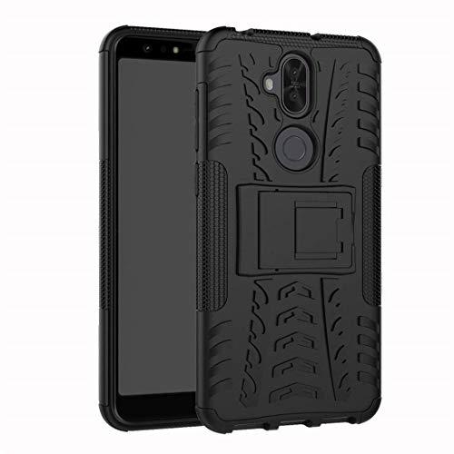 Capa Capinha Anti Impacto Para Asus Zenfone 5 Selfie E Selfie Pro Zc600kl Case Armadura Hybrid Reforçada Com Desenho De Pneu - Danet (Preto)