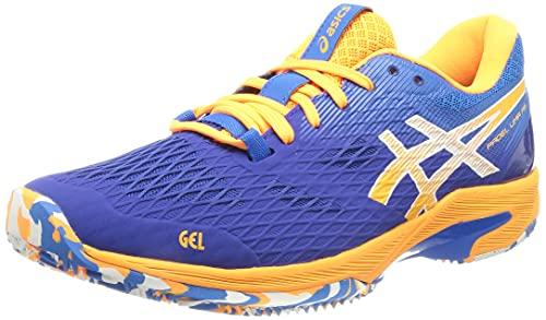 ASICS Padel Lima FF, Zapatillas de Running Hombre, Monaco Blue Orange Pop, 43.5 EU