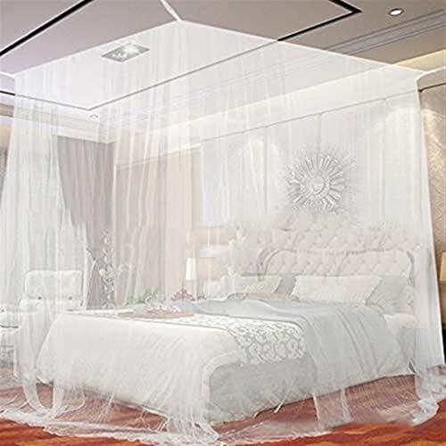 SONG Cama de Cama de Mosquitos Red, Cuatro Esquina al Aire Libre Camping Mosquito Canopy Net con Bolsa de Almacenamiento Protección de Tienda de campaña Dormitorio de la Red Completa