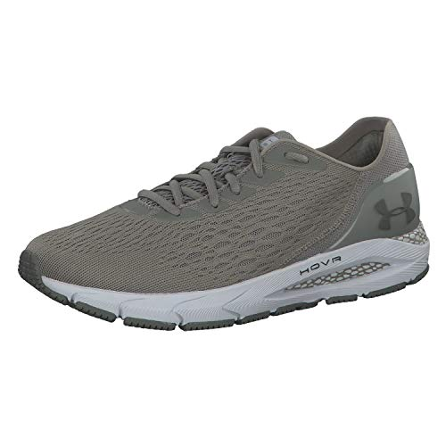 Under Armour Men's HOVR Sonic 3 Running Shoe, Gravity Green (300)/Halo Gray, 12