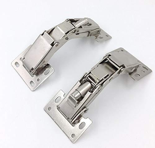 【2 pezzi】 cerniera della porta dell'armadio pieghevole ad angolo di 150 gradi mobile da bagno mobile cerniera per mobili non porosa