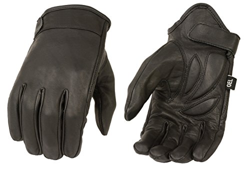 Milwaukee MG7510-BLK-L Men's Summer Cruising Gloves (Black, Large)
