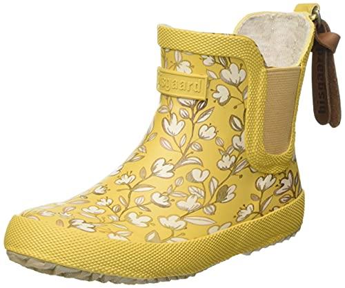 Bisgaard Baby Rubber Rain Boot, Mustard, 22 EU