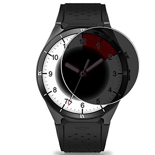 Vaxson Protector de Pantalla de Privacidad, compatible con Kingwear KW88 Pro smartwatch Smart Watch [no vidrio templado] TPU Película Protectora Anti Espía