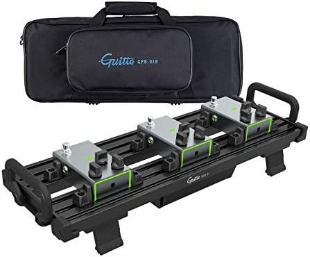 Guitar Pedal Board Guitto Fixture Blocks Fixed Effects Pedalboard Aluminum Alloy Super Light product image
