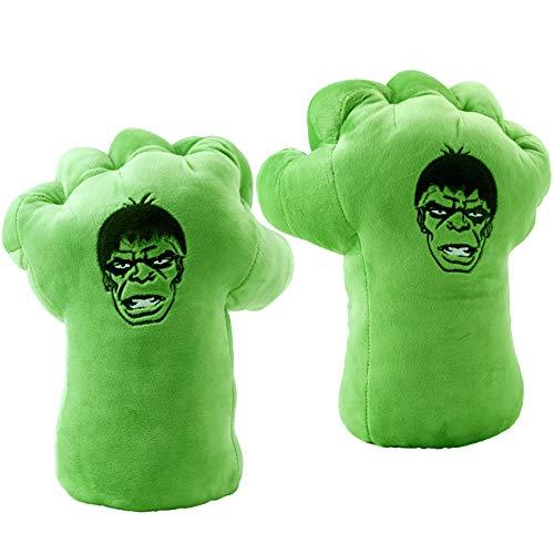 EQUASIS hulk gloves for kids,Kids Cosplay Costumes Gloves, Superhero Toys for Boys, Birthday, Halloween ,Christmas Xmas Gifts(1 Pair)