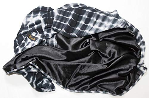 Luxurious Satin-Lined Head Wraps (Tie Dye) - PERFECT PROTECTION