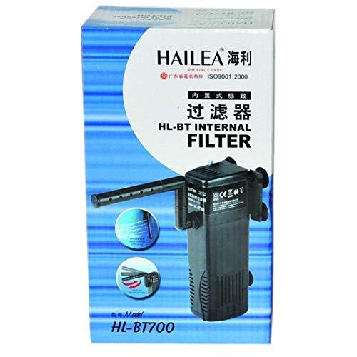 HAILEA HL-BT 700 - Filtro interior (incluye caja de carbón activo, filtro de agua dulce de mar)
