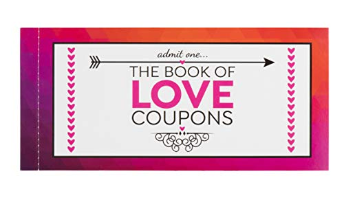 The Book of Love Coupons for Valentine's Day, for Her (20 Cards)