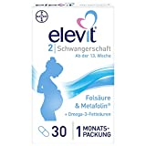 Elevit 2, 30 Kapseln, Für den Nährstoffbedarf während der Schwangerschaft