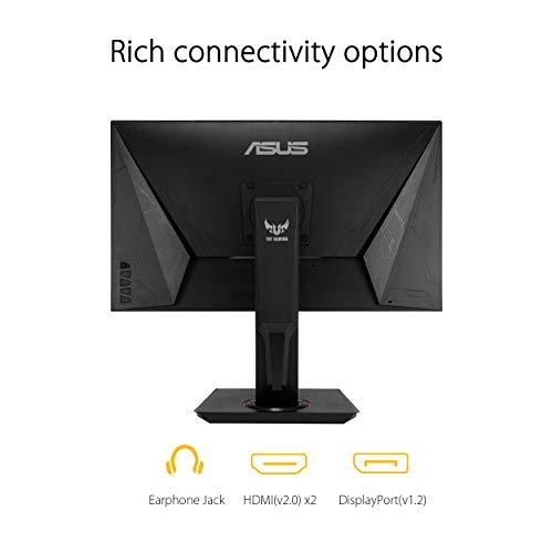 Asus TUF Gaming VG289Q 71,12cm (28 Zoll) Monitor (UHD 4K, IPS, DCI-P3 , Adaptive-Sync/FreeSync, HDR 10) schwarz - 9