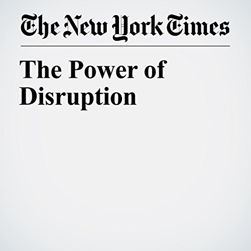 The Power of Disruption audiobook cover art