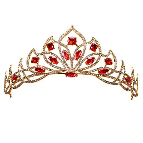 Frcolor Kristall Braut Krone Vintage...