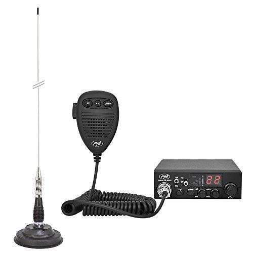 PNI, CB Radio Escort HP 8000L ASQ + Antena CB Ml100