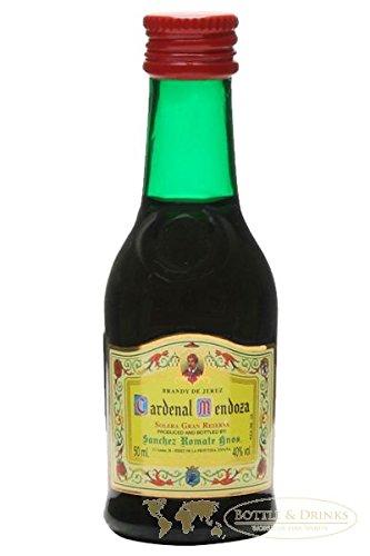 Cardenal Mendoza spanischer Brandy 0,05 Liter Miniatur
