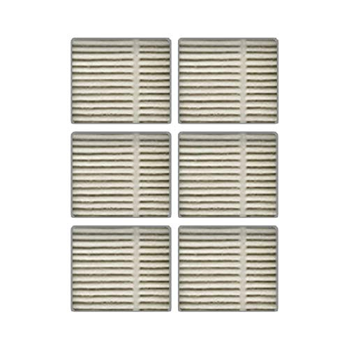 Breathe Pure Air Purifier Replacement Filter for Breathe Pure Air Purifier, Breathe Pure Air Purifier Pro, Breathe Pure Air Purifier Plus, 6-Pack