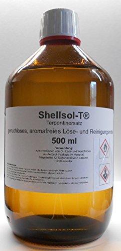 500 ml Shellsol-T®,Terpentinersatz, geruchloses, aromafreies Lösemittel und Pinselreiniger