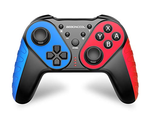 BEBONCOOL Controller für Nintendo Switch, Wireless Switch Pro Controller 6 Achsen Gyro-Chip mit Dual Motors Vibration Turbo Funktion, Pro Controller Switch Kontroller Zubehörsets für Nintendo Switch